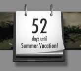방학까지 앞으로 52일!