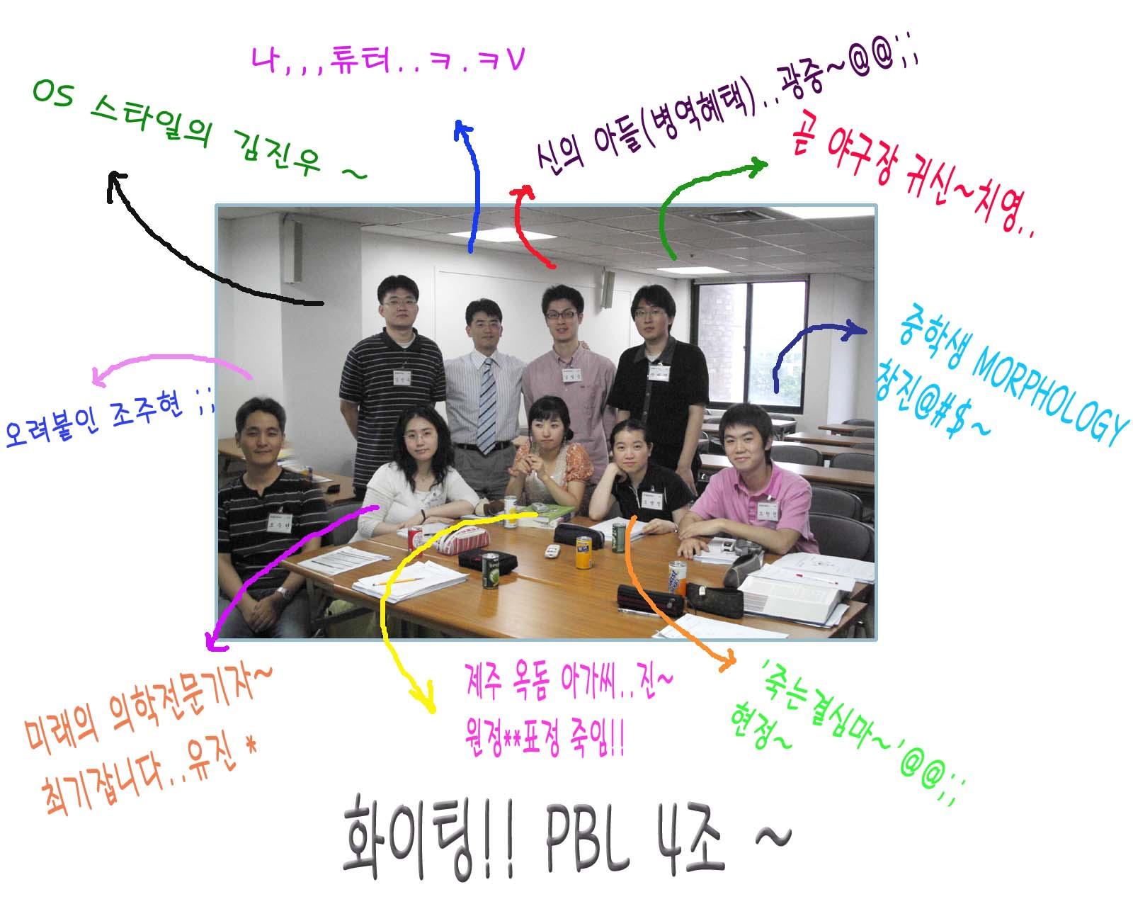 2006년 1학기 PBL 4조