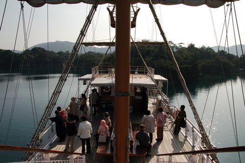 Pearl Queen호에서의 구경