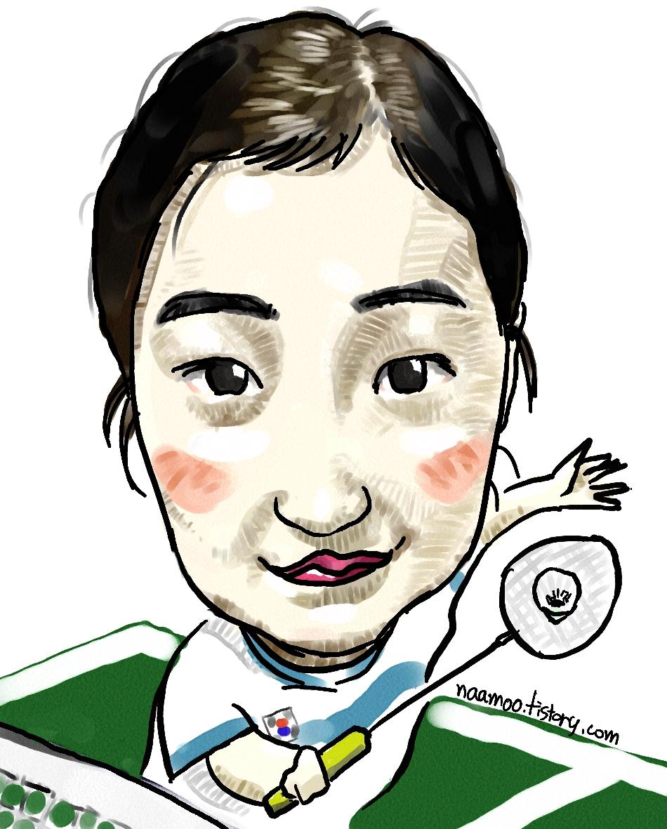 배드민턴 얼짱 황혜연 선수