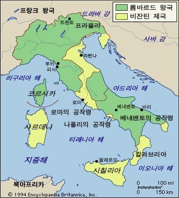 라벤나의 위치와 역사