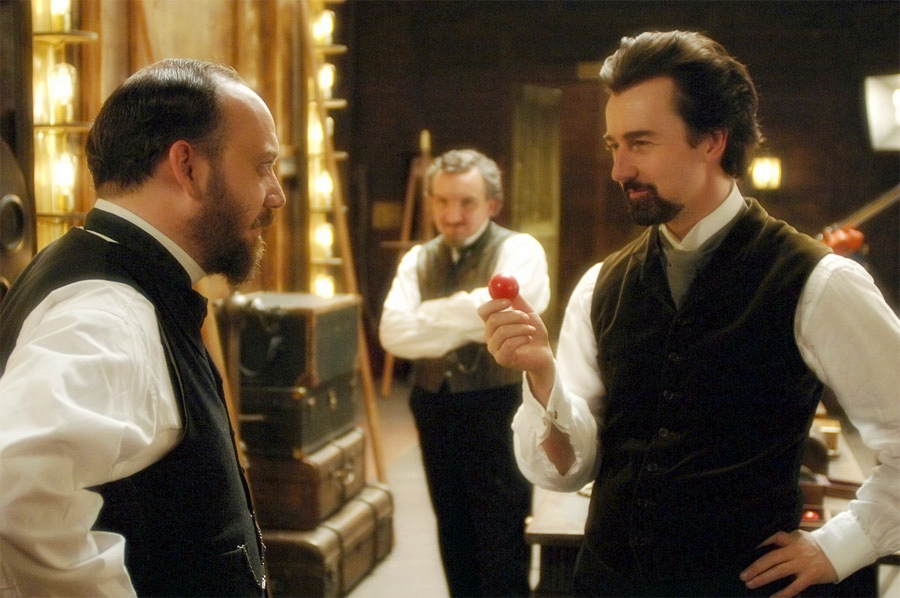 """the prestige characters What an interesting character study is """"the prestige"""" let us first talk about robert angier (hugh jackman) angier is the epitome of human greed."""